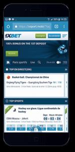 1xBet mobile app   Betsmob com